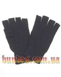 Перчатки вязаные беспалые