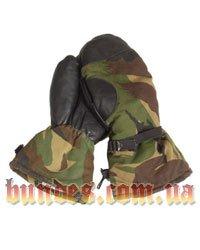 Тактические перчатки BW, кожа,
